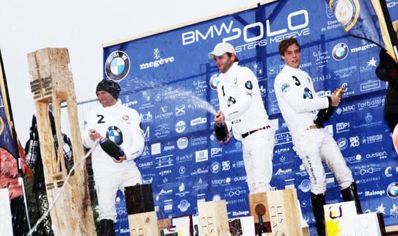 L'équipe BMW remporte le Polo Masters de Megève 2014