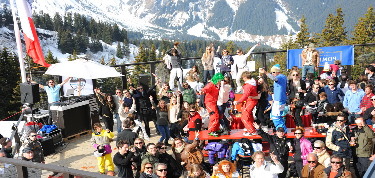 Les  « Winter Party » de Megève