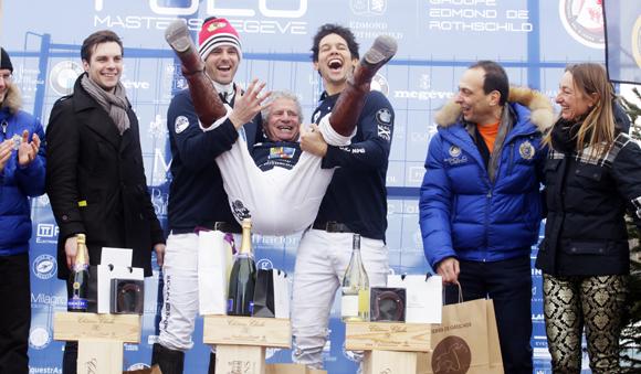 5. Laurent Dassaut et ses coéquipiers Mathhieu Delfosse et Patrick Paillol terminent 2èmes