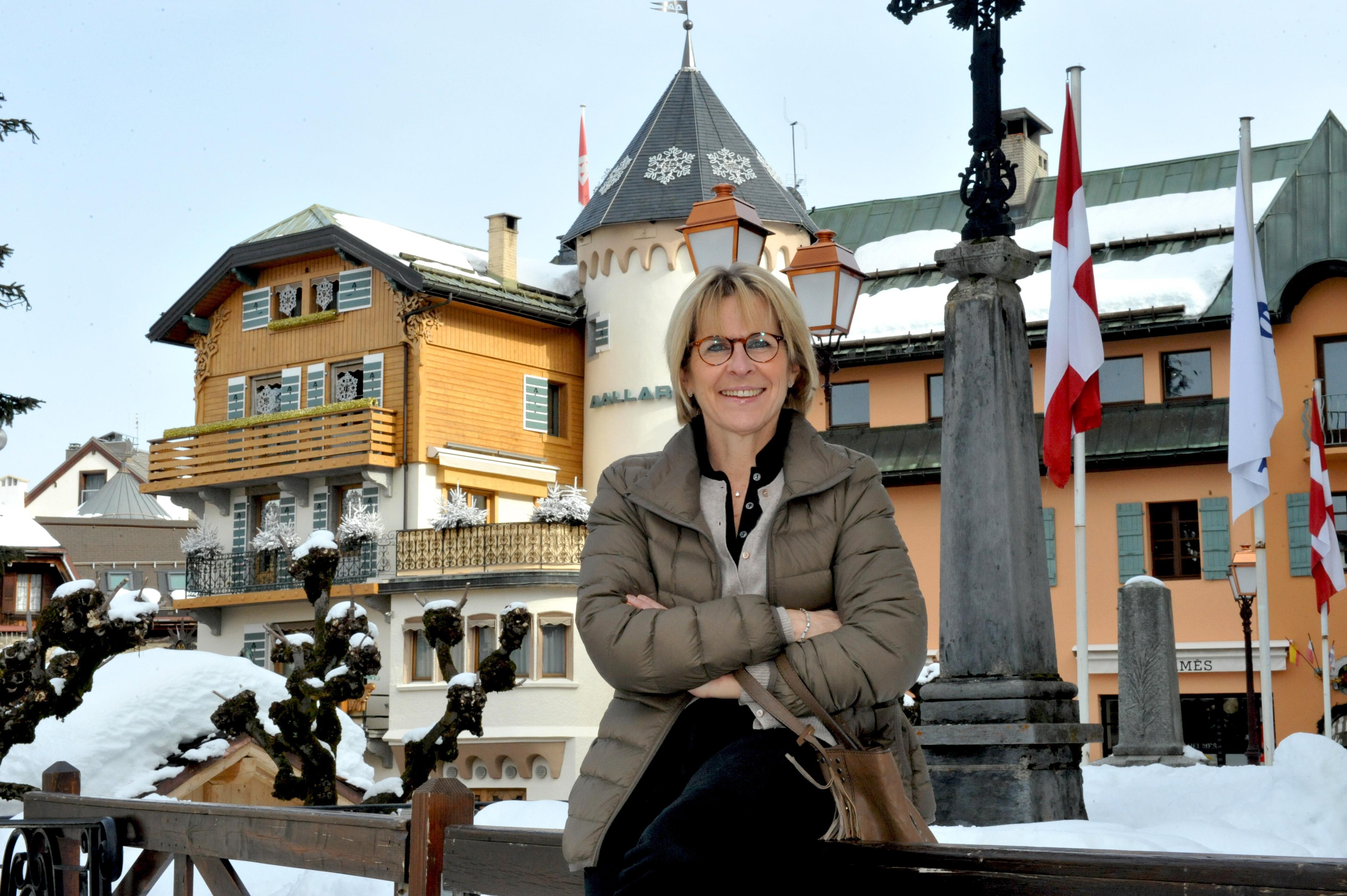 Catherine Jullien-Brèches élue maire de Megève