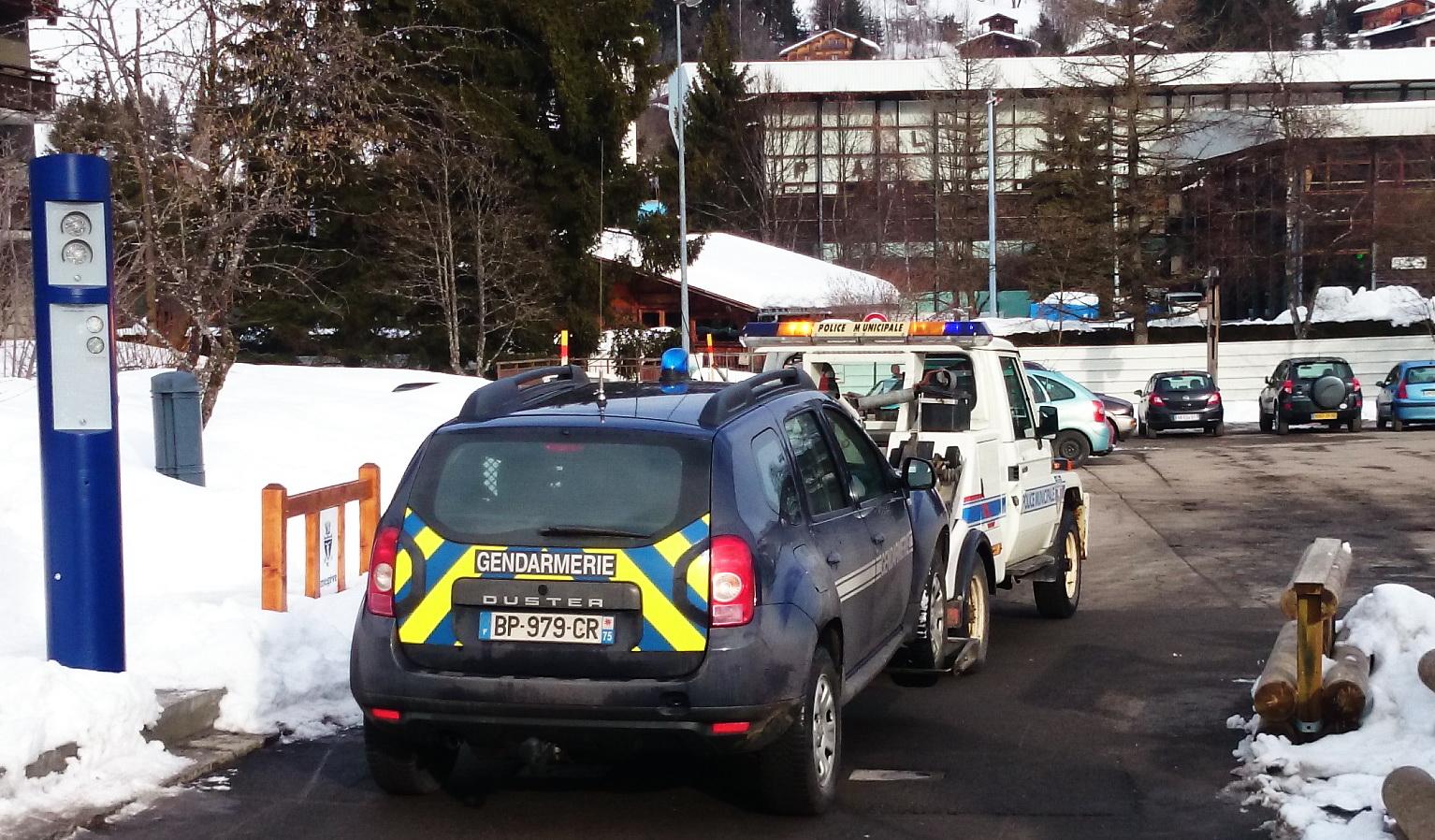 Guerre des képis à Megève. Police municipale 1 – Gendarmerie 0