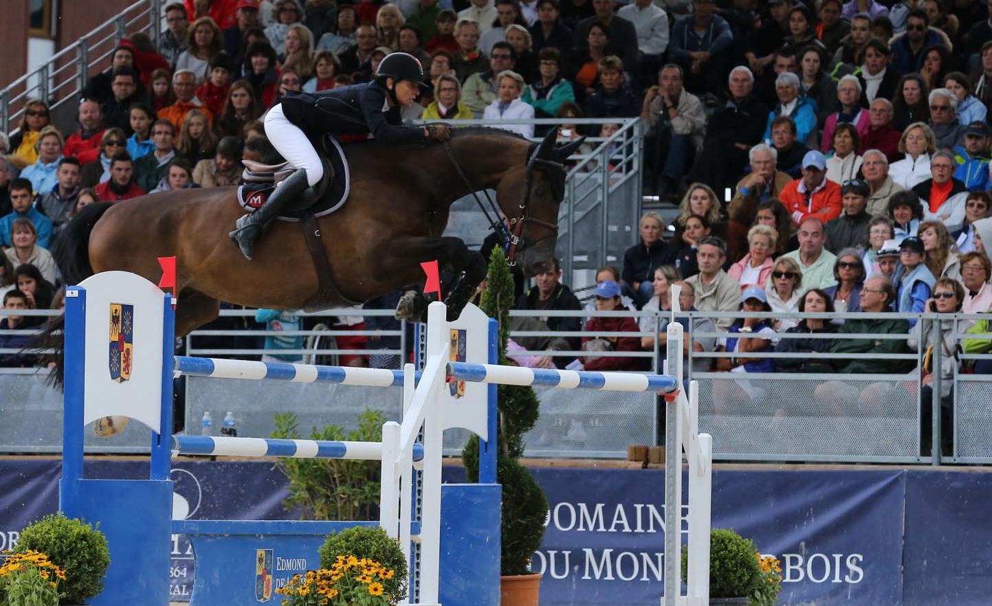 Jumping International de Megève 2014. Le sacre de Frédérique Fabre Delbos