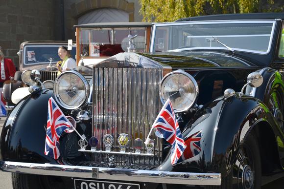 Swiss Classic British Car Show. Les 110 ans de Rolls Royce