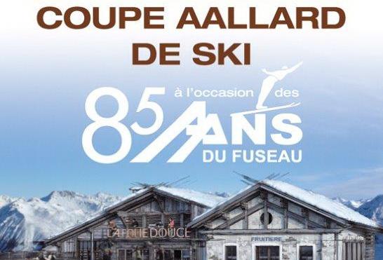 La Folie douce accueillera la Coupe AALLARD de ski