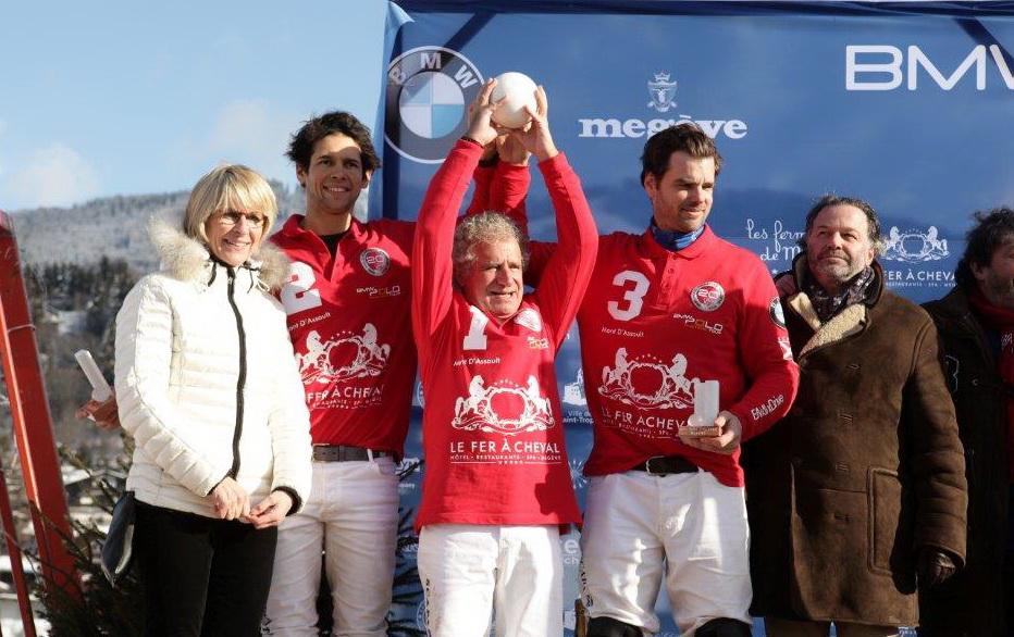 Polo Cup de Megève. Laurent Dassault remporte la 20ème édition