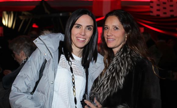 10. Céline Cerino (Barnes) et Marie-France Kjellman