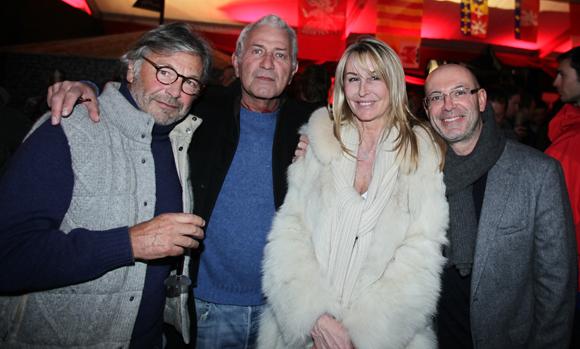 12. Jean-Louis Sibuet (Sibuet), Michel (Couach Yachts) et Martine Prezioso, Benoît Ravix (Mairie de Megève)