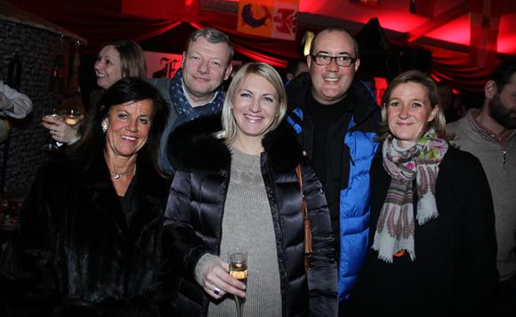 14. Béryl Maillard, consul de St Domingue, Guillaume Chalvin (Chalvin & Company), Peni Dimitrova (Cratujuano), Didier et Armelle Chalvin