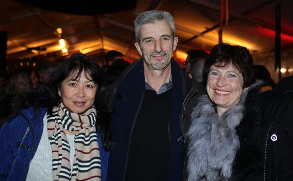15. Valiny Sigaud, Laurent Ducruet (Flocons de Neige Megève) et son épouse Françoise