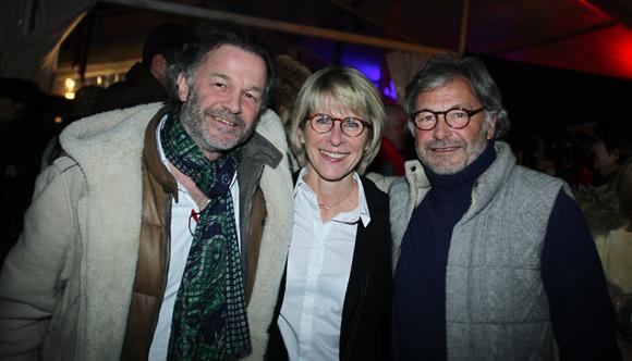 20. Catherine Jullien Brèches, maire de Megève et Jean-Louis Sibuet (Sibuet)