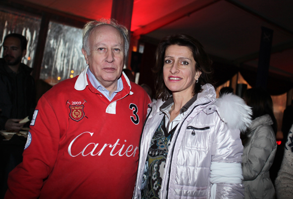 23. Claude Marpaud (Cigare Magazine) et Rita