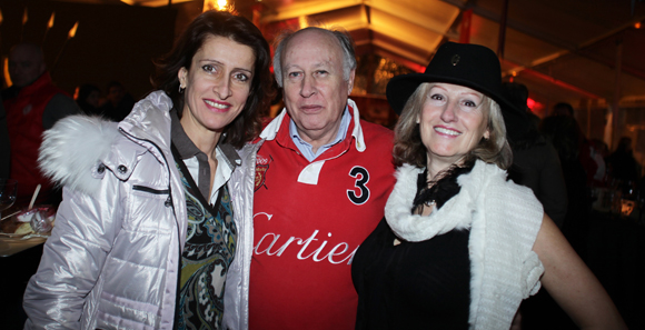 24. Rita, Claude Marpaud (Cigare Magazine) et Christine Fries (Rousseau n° 5)