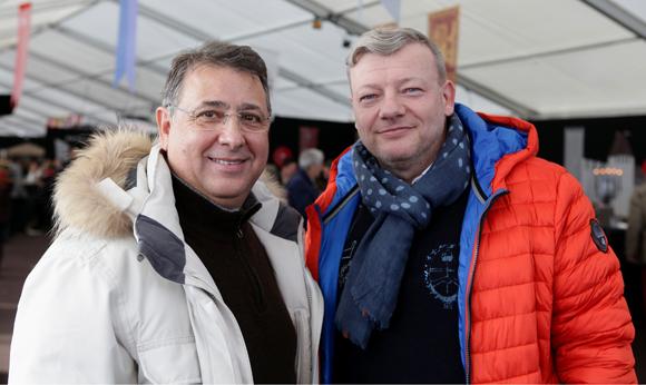 29. Claude Maniscalco (Saint Tropez Tourisme) et Guillaume Chalvin (Chalvin & Company)