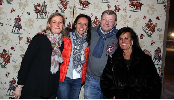 3. Armelle Chalvin (Cocoricom), Sophie Delahaye Guivarc'h, journaliste, Guillaume Chalvin (Chalvin & Company) et Béryl Maillard, consul de St Domingue