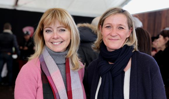 30. Delphine Maniscalco (Showroom Immobilier de Saint-Tropez) et Armelle Chalvin (Cocoricom)