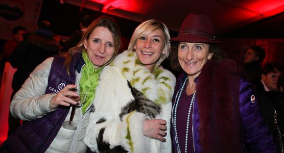 6. Caroline Giraud (Éhôtels-Lyon), Dalila Saadi (La Folie Douce) et Brigitte Honegger (Fly On)