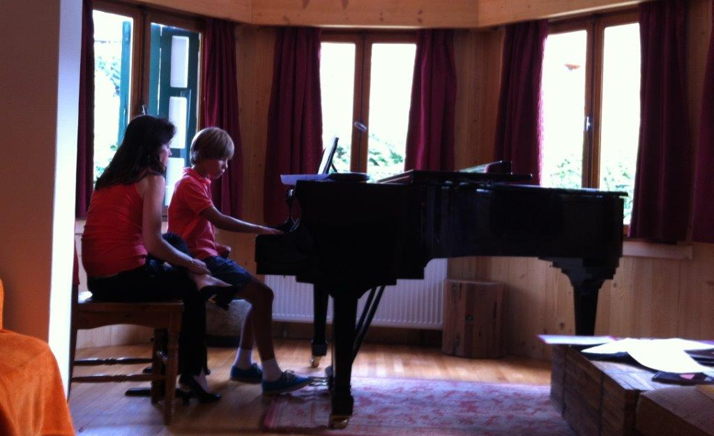 Stages de piano. Music in Megève