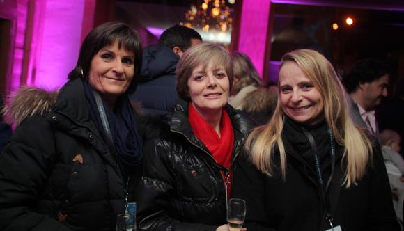 12. Maryse Socquet-Clerc, Cathy Derobert et Carole Socquet