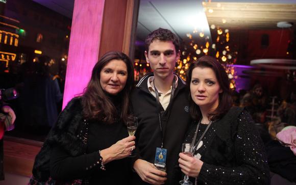 17. Dominique Chausse (Féminance SA), Guillaume Mateos et Liudmila Dermenji