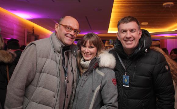 2. Nicolas Duquesne (Pelloux Sport), Marion Manuel et Nicolas Winckler (Megève People)