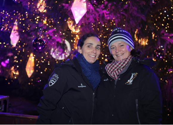 31. Alexandra Collomb et Fabienne Cordet (Mairie de Megève)