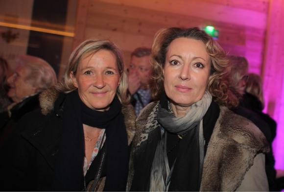 5.  Armelle Chalvin (Cocoricom) et Sylvie Lagatta