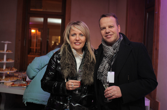 7. Nicole et Cyril Ode (Champagne Taittinger)