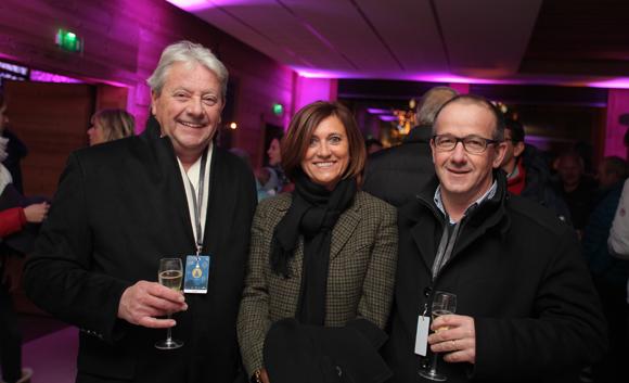 9. Alain Bieler (Novoutils), Mireille et Philippe Marcon (Intermarché)