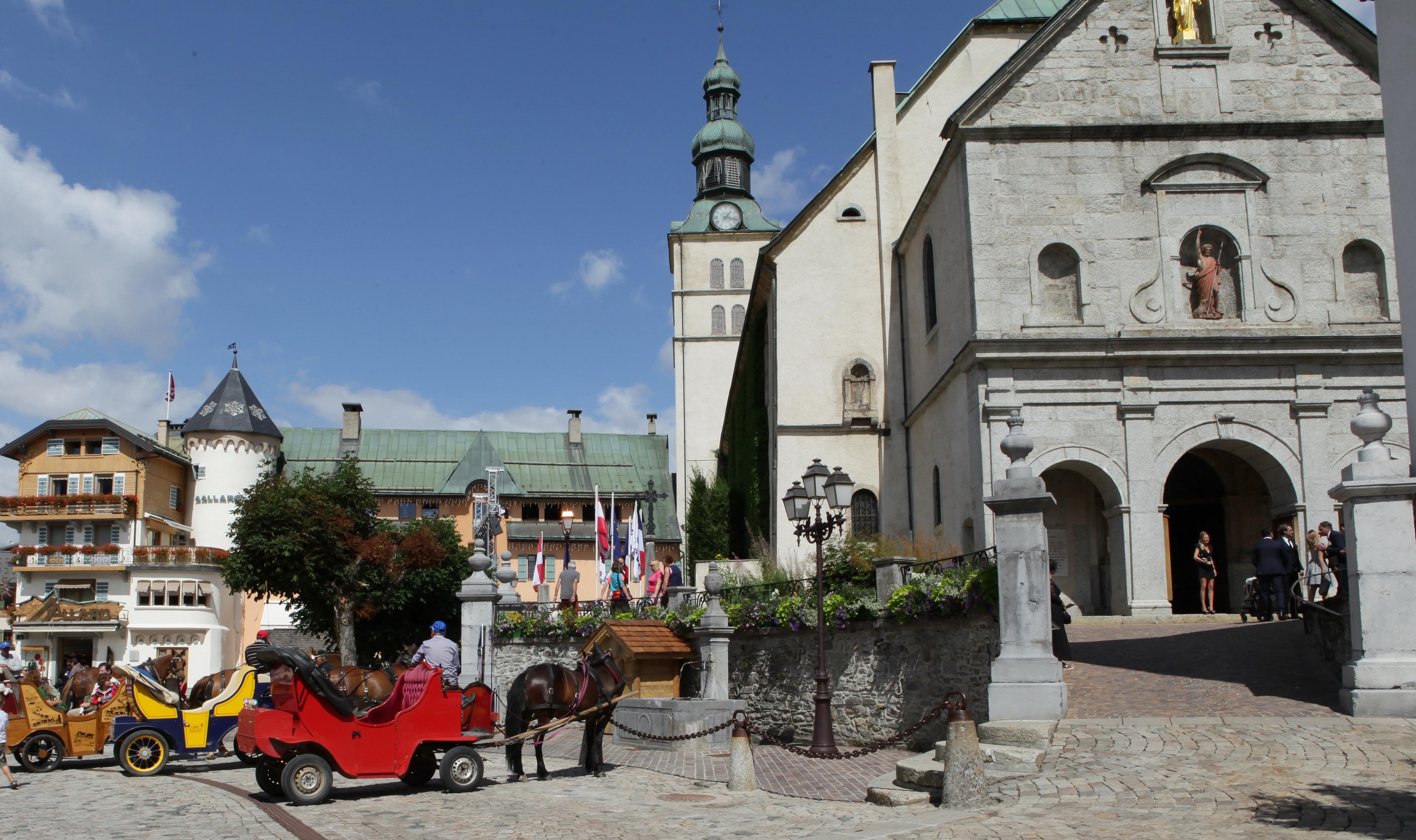Pas de mariage religieux à Megève cet été
