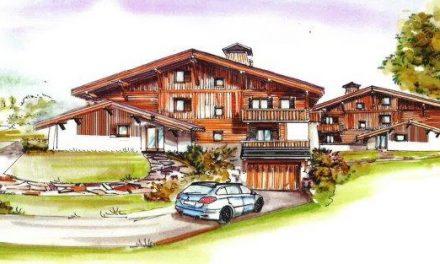 Megève. Construction de nouveaux logements à Cassioz