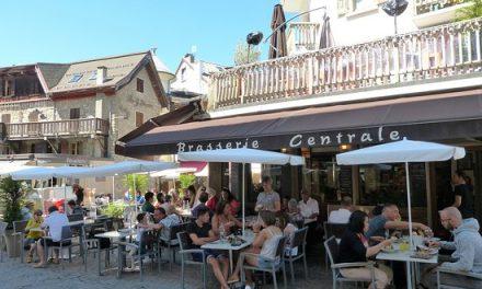 Megève. La Brasserie Centrale dans le giron de Sénéquier