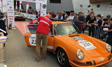 Tour Auto 2018. Etape à Megève pour 230 sportives anciennes