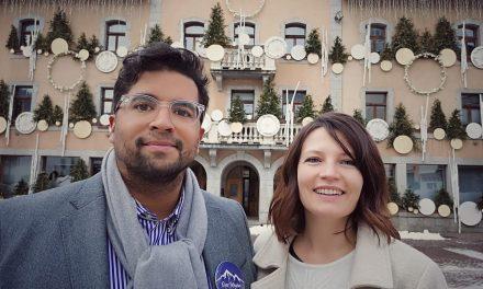 Municipales Megève 2020. Sandra Ansanay et Nicolas Bally dans la mêlée