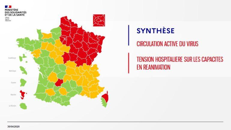Carte du Coronavirus. Megève et la Haute-Savoie patientent à l'orange