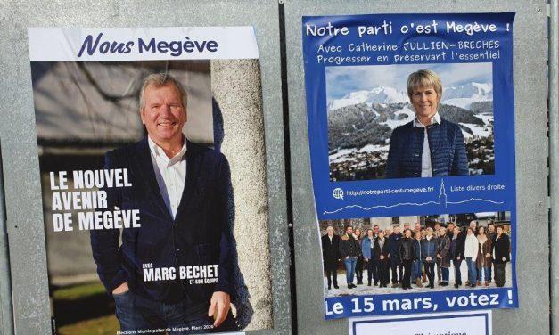 Recours contre l'élection municipale de Megève. Marc Béchet débouté